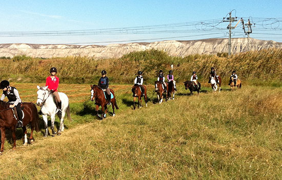 Donde montar a caballo en zaragoza