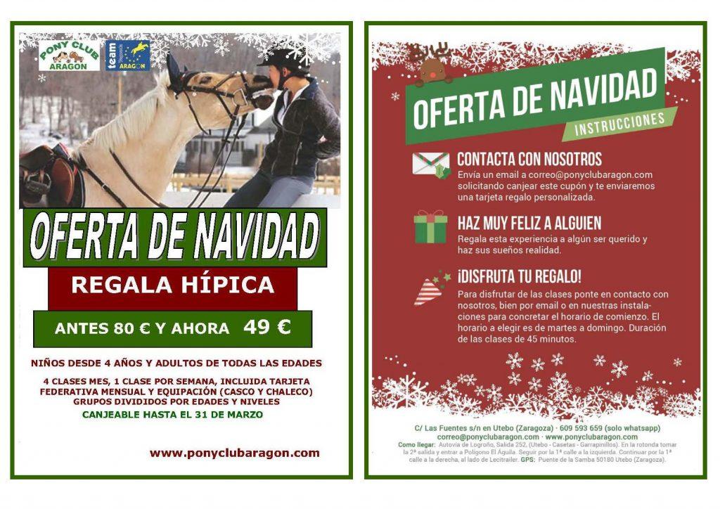 Flyer Navidad para cartel 1024x724 - ESTA NAVIDAD REGALA HÍPICA