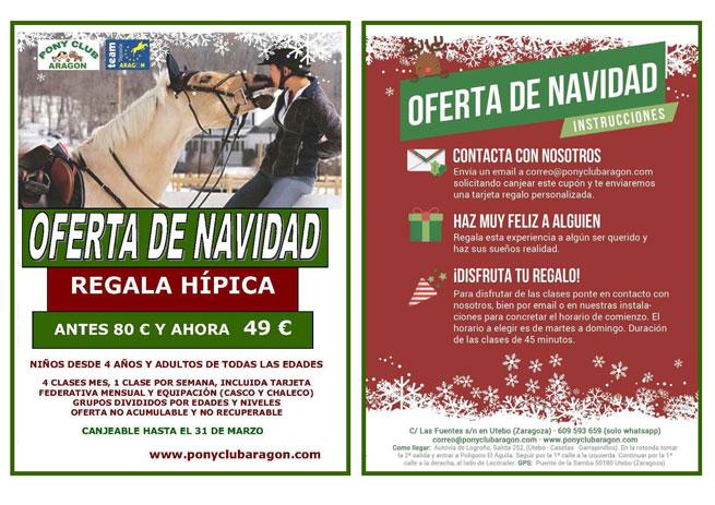 Flyer Navidad para web - ESTA NAVIDAD REGALA HÍPICA