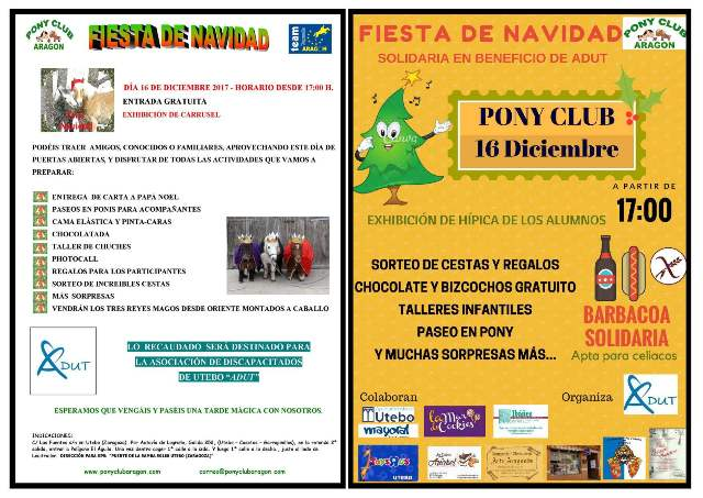 carteles fiestas juntos para web - FIESTA DE NAVIDAD 2017
